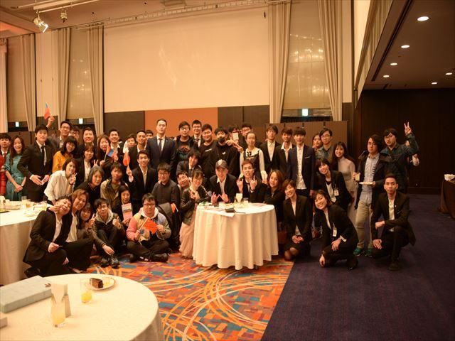 「祝・卒業」神戸電子専門学校2018年度卒業式・日本語学科の様子