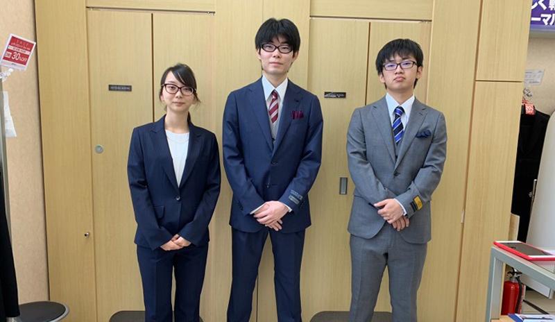 情報ビジネス学科「洋服の青山」インターンシップ参加!