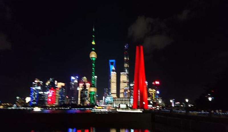 初めての上海!!日本語学科第1回同窓会開催&上海学校訪問