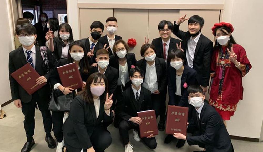 日本語学科 2020年度卒業式
